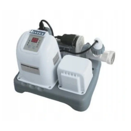 PureSpa Jet & Bubble Deluxe Intex + Hard Water System