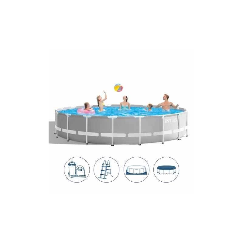 Zestaw czyszczący basen INTEX Odkurzacz Akum 28620
