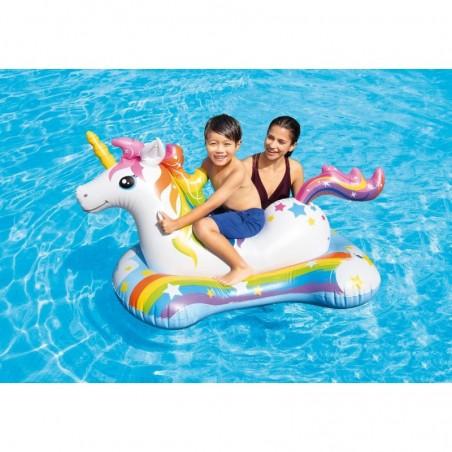 Materac Pływający 1-osobowy Pomarańcza