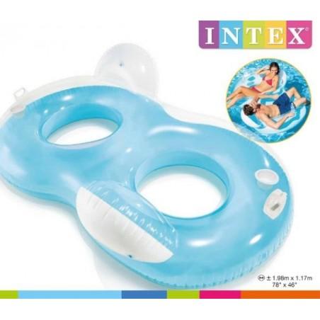 Lampa basenowa LED pływająca pompowana zmiana kolorów